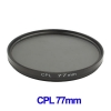 77mm Camera CPL Filter Lens (Black)