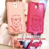 (391-009)เคสมือถือซัมซุงโน๊ต Case Note3 เคสนิ่มฝาหลังลายแมวน่ารักๆ DOMI CAT