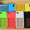 (152-242)เคสมือถือไอโฟน5c Case iPhone เคสนิ่ม COLORFUL