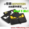 (215-060)เคสไอแพด iPad 5 Air1 เคสสไตล์กระเป๋าถือลาย fendi monster