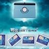 (034-008)เคสมือถือซัมซุง Case Samsung Galaxy Tab 2 10.1 นิ้ว เคสพลาสติกฝาพับ PU 360 องศา
