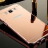 (พร้อมส่ง)เคสมือถือซัมซุง Case Samsung Galaxy J5(2016) เคสกรอบโลหะพื้นหลังอะคริลิคเงาแวว