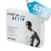 เบิรนไขมันหน้าท้อง ควบคุมน้ำหนักด้วย Creatine ACTIV Men by Mc.Plus ผลิตภัณฑ์เสริมอาหารควบคุมน้ำหนัก ครีเอทีน แอคทีฟ บรรจุ 20 เม็ด 1 กล่อง