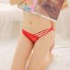 Hot Sexy Lace Panties กางเกงในซีทรู จีสตริงลูกไม้สีแดง สไตล์สาวร้อนแรง