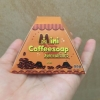 Mini coffee soap สบู่กาแฟเร่งขาว