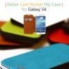 Tridea : Italian PU Card Pocket Flip Case with Speaker Hole For Samsung Galaxy S4, S IV, i9500
