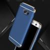 (025-548)เคสมือถือซัมซุง Case Samsung S7 Edge เคสพลาสติกสีสดใสขอบแววสไตล์แฟชั่น