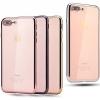 (025-206)เคสมือถือไอโฟน Case iPhone 7 Plus เคสนิ่มใสขอบแวว