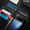 Spigen® Wallet Stand Feature Flip Light cover Premium Black For Galaxy Note 7