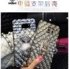 (442-002)เคสมือถือซัมซุง Case Samsung S6 Edge เคสนิ่มแฟชั่น Chic&Street 3D พร้อมแหวนตั้งโทรศัพท์