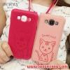 (391-038)เคสมือถือซัมซุง Case E7 เคสนิ่มฝาหลังลายแมวน่ารักๆ DOMI CAT