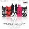 (152-072)เคสมือถือไอโฟน 4/4s Case iPhone เคสนิ่ม Marc Jacobs Katie the Bunny