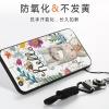 (025-680)เคสมือถือวีโว่ Vivo V5/V5S/Y67 เคสนิ่มซิลิโคนลายน่ารักพร้อมแหวนมือถือและสายคล้องคอถอดแยกได้