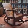 เก้าอี้โยกงานเก่า ไม้มะค่า รหัส131160sc