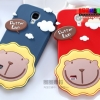 (303-001)เคสมือถือซัมซุงกาแล็คซี่เอส 4 Samsung Galaxy เคสนิ่ม Butter Lion