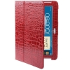 Case เคส Crocodile Samsung Galaxy Note 10.1 (N8000)(Red)