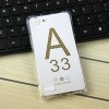 (พร้อมส่ง)เคสมือถือ Case Oppo A33/Neo7/Mirror 5 lite เคสนิ่มใสบางพื้นจุดกันรอยนิ้วมือ