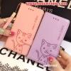 (391-068)เคสมือถือ Case Huawei Honor 7 เคสนิ่มสมุดเปิดข้างลายแมวน่ารักๆ DOMI CAT