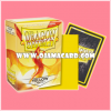 Dragon Shield Standard Size Card Sleeves - Yellow • Matte 100ct.