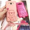 (391-010)เคสมือถือซัมซุง Case E5 เคสนิ่มฝาหลังลายแมวน่ารักๆ DOMI CAT