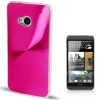 CD Texture Metal HTC One (M7) (Magenta)