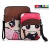 (215-040)เคส iPad6 Air2 กระเป๋าใส่เคสลายเด็กผู้หญิง