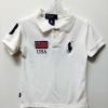 Polo Ralph lauren----เสื้อโปโลสีขาว ปัก USA เนื้อดี นิ่มค่ะ size 5, 6
