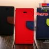 (152-320)เคสมือถือไอโฟน case iphone 5 เคสสมุดกระเป๋าทูโทน