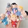 TO-002 ตุ๊กตานิ้วมือ ชุดครอบครัว (6 ตัว)