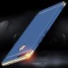 (025-549)เคสมือถือ Case Huawei Honor V9 เคสพลาสติกสีสดใสขอบแววสไตล์แฟชั่น