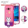 (391-033)เคสมือถือซัมซุง Case Samsung Galaxy J1 เคสนิ่มฝาหลังลายแมวน่ารักๆ DOMI CAT