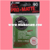 Ultra•Pro Pro-Matte Small Deck Protector / Sleeve - Green 60ct.