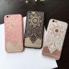 (151-379)เคสมือถือไอโฟน case iphone 6/6S เคสพลาสติกใสลายลูกไม้ Mandala