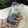(442-052)เคสมือถือวีโว Vivo X7 plus เคสนิ่มใสทรายดูดแฟชั่นสวยๆ