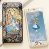 (681-003)เคสมือถือไอโฟน Case iPhone7/iPhone8 เคสและฟิล์มกระจกเข้าชุด Alice The little mermaid