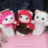 (151-183)เคสมือถือซัมซุงโน๊ต Case Note3 เคสพลาสติกใสติดตุ๊กตาแมว 3D สามสไตล์