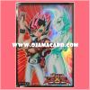 Yu-Gi-Oh! ZEXAL OCG Duelist Card Protector / Sleeve - Yuma Tsukumo and Astral [Used] x1