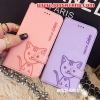 (391-070)เคสมือถือออปโป้ OPPO N1mini เคสนิ่มสมุดเปิดข้างลายแมวน่ารักๆ DOMI CAT