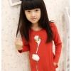 (Pre) เสื้อแขนยาว ผ้า cotton สีแดง