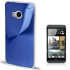 CD Texture Metal HTC One (M7) (Blue)
