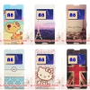 (380-008)เคสมือถือซัมซุง Case Samsung A8 เคสพลาสติกฝาพับ PU ลายยอดฮิตน่ารักๆโชว์หน้าจอ