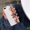 (436-360)เคสมือถือไอโฟน Case iPhone7/iPhone8 เคสนิ่มลายการ์ตูนน้องหมาพื้นแววดาว