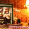 (331-002)แบบบ้านประดิษฐ์ DIY โมเดลร้านกาแฟ พร้อมเครื่องดนตรี ไฟ LED