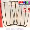 (152-249)ฟิล์มมือถือไอโฟน iphone6Plus ฟิล์มกระจกแบบเต็มขอบสี