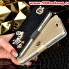 (022-049)เคสมือถือซัมซุงโน๊ต Case Note3 เคสพลาสติกฝาพับเปิดข้าง Rhinestone สวยวิ้งๆ