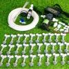 SAVE SET 6 ชุดพ่นหมอก 30 หัวพ่นหมอกเนต้าฟิล์ม 0.6 mm. + สายพ่นหมอก 50 เมตร ( ใช้ได้ทั้งแบตเตอรี่และไฟบ้าน 220 โวลต์ )