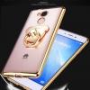 (025-530)เคสมือถือ Case Huawei Enjoy 7 Plus เคสนิ่มใสขอบแวว แบบมีแหวนหมีมือถือ/ไม่มีแหวนมือถือ