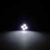 หลอดไฟหรี่ LED รถยนต์ แบบ 4 ดวง สีขาว