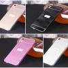 (025-123)เคสมือถือ HTC Desire 820 เคสกรอบบัมเปอร์โลหะฝาหลังอะคริลิคทูโทน
