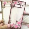 (436-294)เคสมือถือซัมซุง Case Samsung Galaxy Note8 เคสนิ่มลายดอกไม้คริสตัลสวยๆ น่ารักๆ